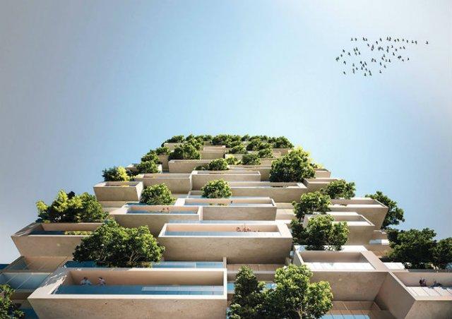 Turnul cedrilor: O padure verticala locuibila, in mijlocul orasului - Poza 4