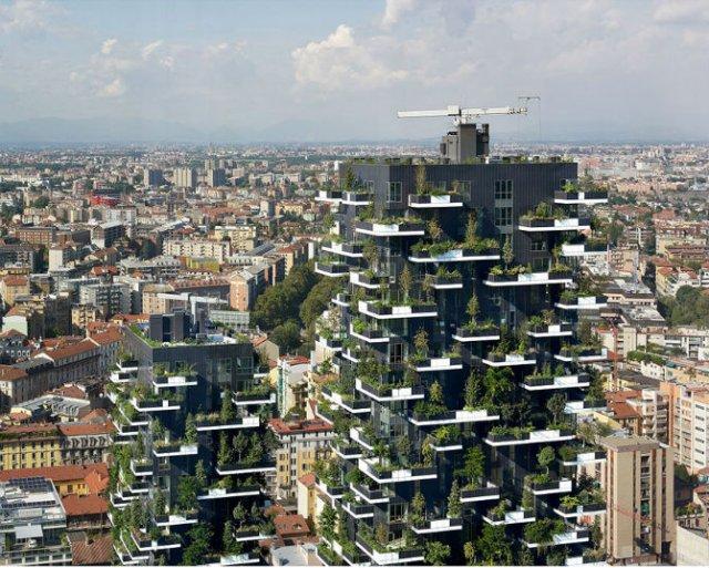 Turnul cedrilor: O padure verticala locuibila, in mijlocul orasului - Poza 5