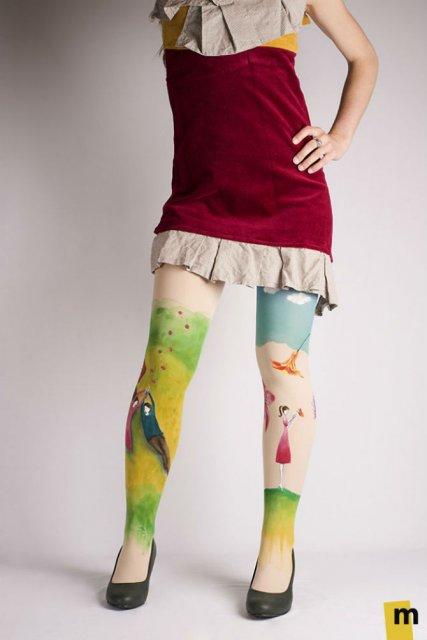 Se poarta arta: Picturi pe care le poti imbraca - Poza 3