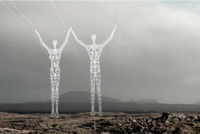 Islanda - Un taram al uriasilor, purtatori de energie electrica