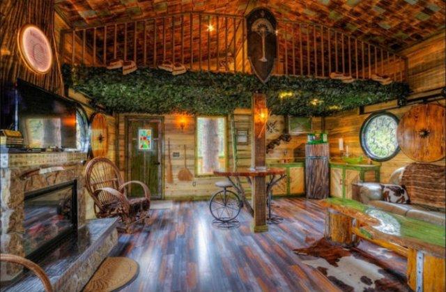 Castelul Soarelui: Casa de vacanta inspirata din Stapanul Inelelor - Poza 4