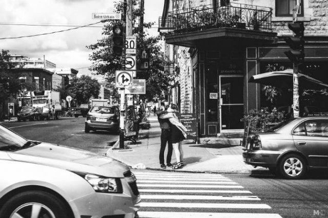 Dragoste stradala: Momente romantice, pe strazile cenusii - Poza 14