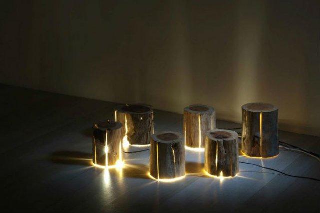 Creeaza cu lumina care-i lipseste: Buturugi luminoase, cu Duncan Meerd - Poza 9