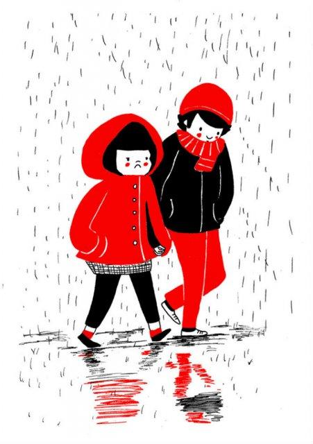 Gesturile mici ale inimilor pereche, in desene emotionante - Poza 8