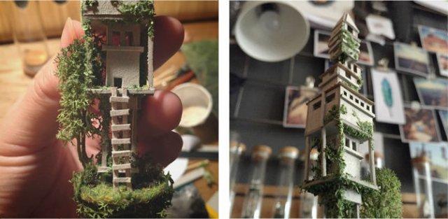 Viata in eprubete: Sculpturi miniaturale, cu Rosa de Yong - Poza 11
