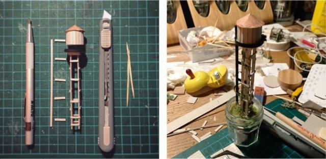Viata in eprubete: Sculpturi miniaturale, cu Rosa de Yong - Poza 3