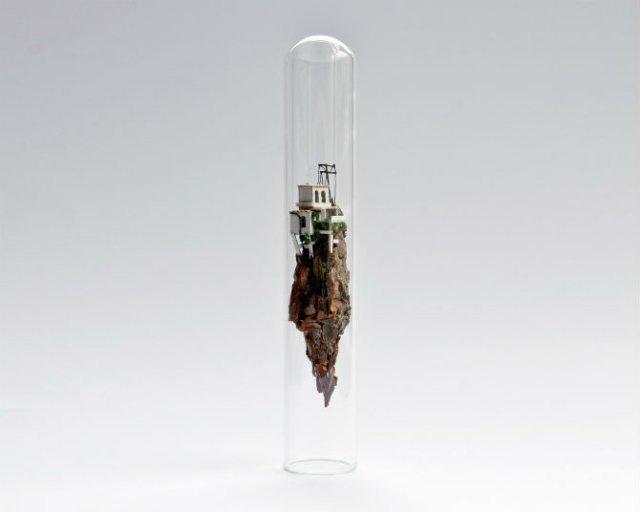 Viata in eprubete: Sculpturi miniaturale, cu Rosa de Yong - Poza 4