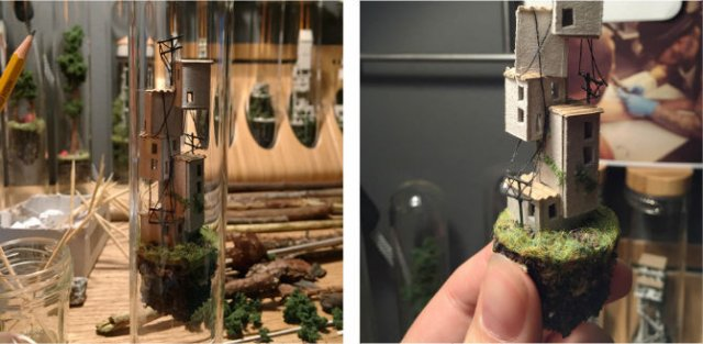 Viata in eprubete: Sculpturi miniaturale, cu Rosa de Yong - Poza 6
