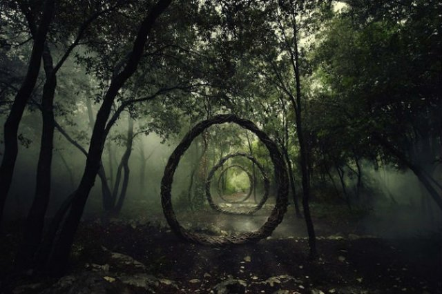Jocul reinnoirii: Sculpturi mistice in natura, pentru natura - Poza 1
