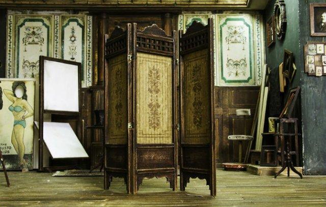 Miniatura unui studio fotografic din 1900 - Poza 17