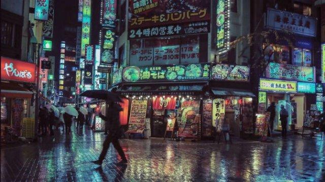 Pierdut in frumusetea Japoniei, noaptea - Poza 2