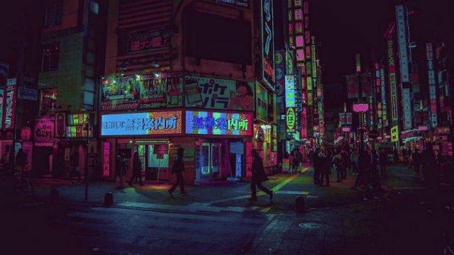 Pierdut in frumusetea Japoniei, noaptea - Poza 11