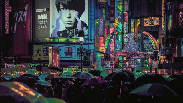 Pierdut in frumusetea Japoniei, noaptea - Poza 4