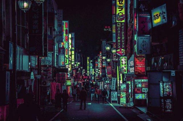 Pierdut in frumusetea Japoniei, noaptea - Poza 5