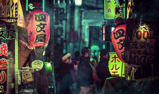 Pierdut in frumusetea Japoniei, noaptea - Poza 6