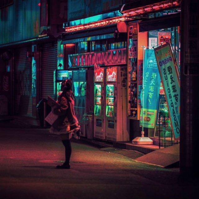 Pierdut in frumusetea Japoniei, noaptea - Poza 9