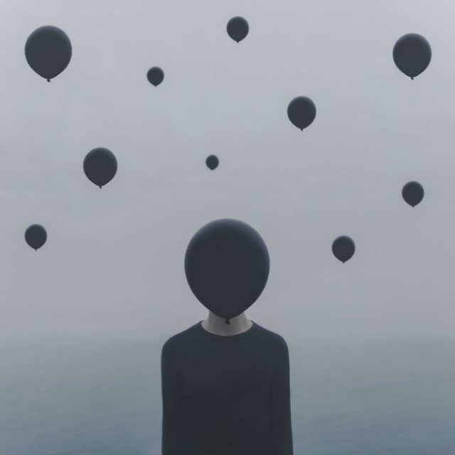 Explorarea propriei melancolii, in imagini suprarealiste