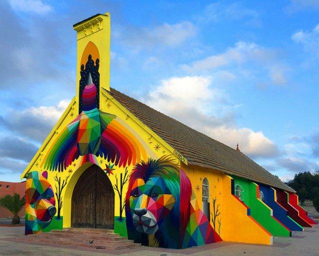 Lacasul de cult multicolor din Morocco - Poza 1