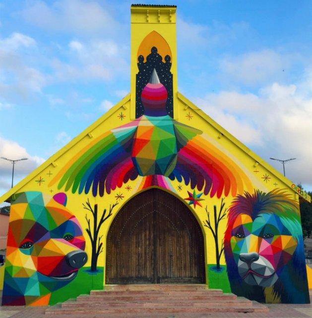 Lacasul de cult multicolor din Morocco - Poza 2