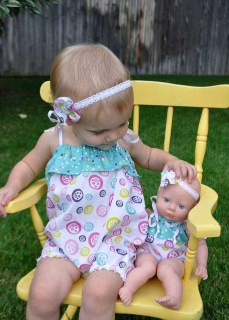 Copilasi adorabili care arata ca papusile lor - Poza 6