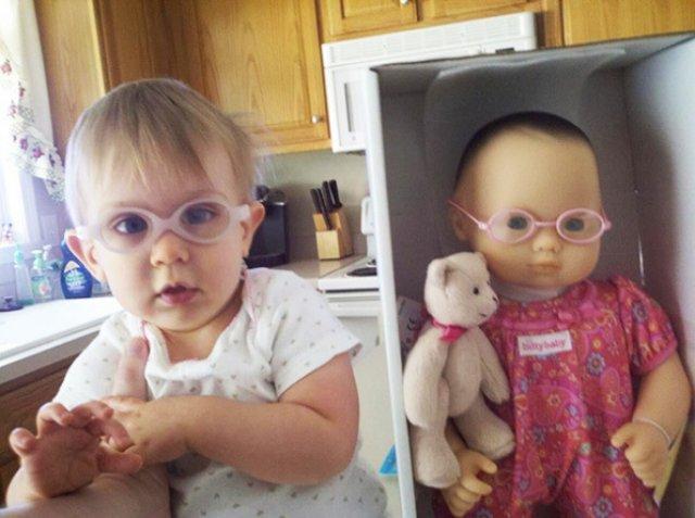 Copilasi adorabili care arata ca papusile lor - Poza 7