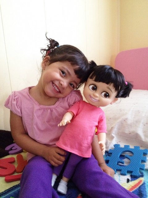 Copilasi adorabili care arata ca papusile lor - Poza 9