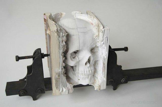 Sculptura in carti vechi: Arta care da o noua viata batranelor pagini - Poza 15