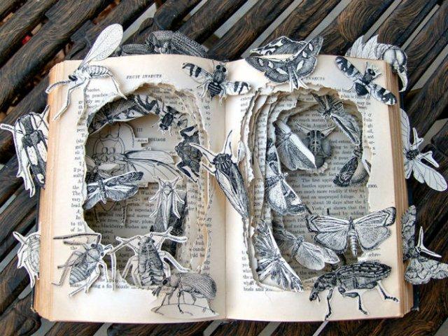 Sculptura in carti vechi: Arta care da o noua viata batranelor pagini - Poza 17