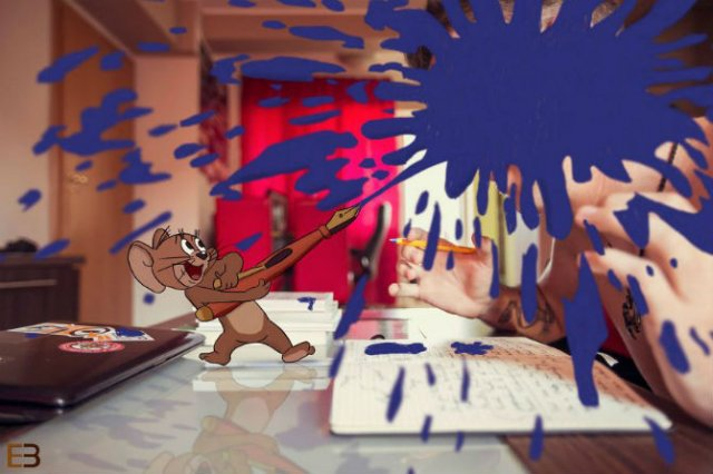 La birou cu Jerry si Nibbles - Poza 4