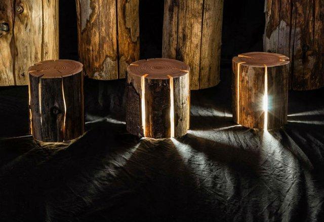 Creeaza cu lumina care-i lipseste: Buturugi luminoase, cu Duncan Meerd - Poza 7