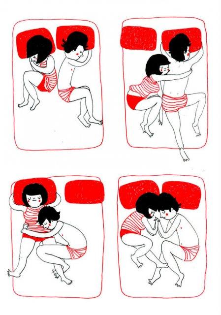Gesturile mici ale inimilor pereche, in desene emotionante - Poza 3