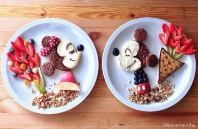 Arta culinara pentru cei mici, in poze delicioase