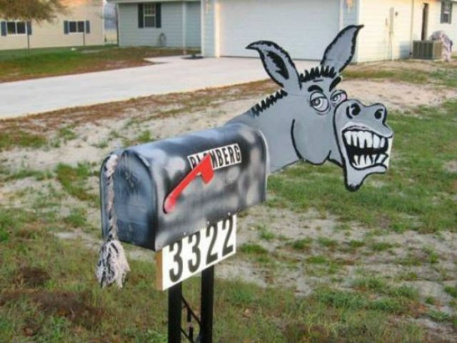 Cele mai ciudate cutii postale din SUA - Poza 1