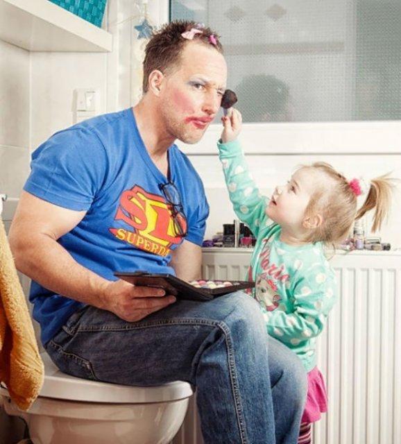 Cei mai tari tati din lume, in 14 fotografii hazlii - Poza 9