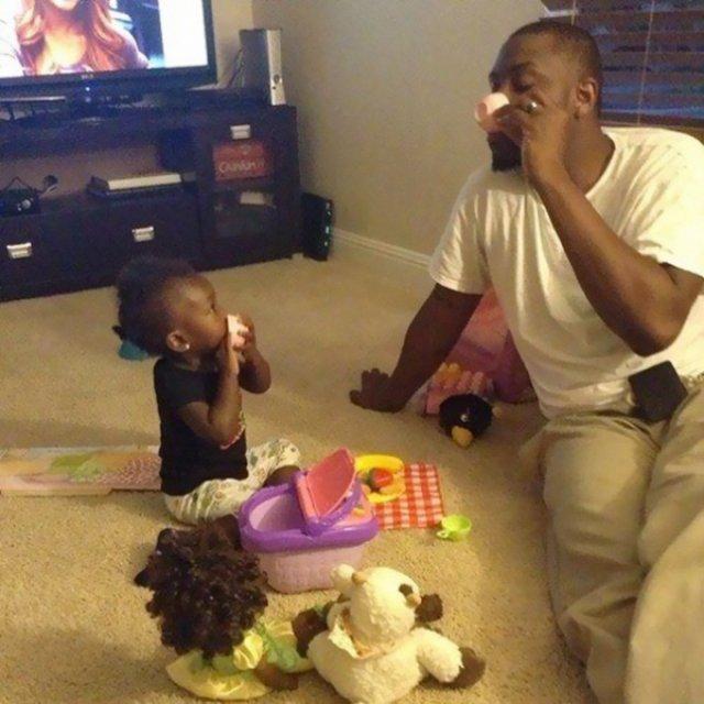Cei mai tari tati din lume, in 14 fotografii hazlii - Poza 4