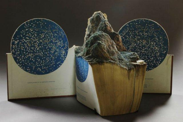Sculptura in carti vechi: Arta care da o noua viata batranelor pagini - Poza 5