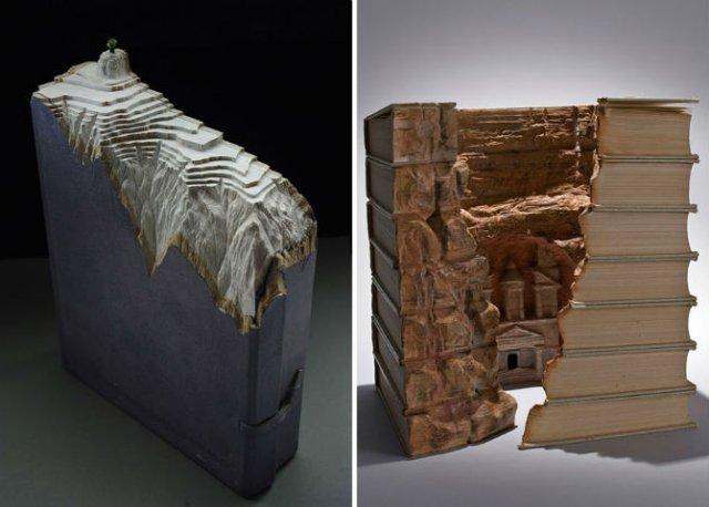 Sculptura in carti vechi: Arta care da o noua viata batranelor pagini - Poza 6