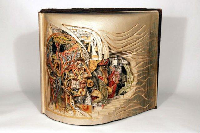 Sculptura in carti vechi: Arta care da o noua viata batranelor pagini - Poza 7