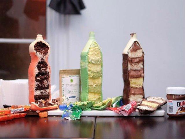 Noua moda in materie de prajituri: Sticle de suc delicioase - Poza 7