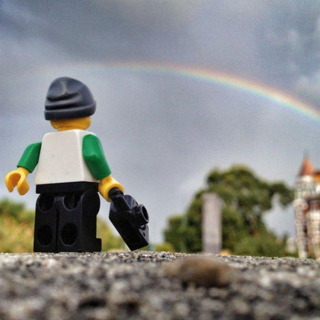Aventurile unui omulet Lego prin Londra - Poza 11