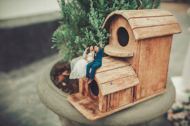 Cupluri miniaturale, intr-un pictorial suprarealist - Poza 6