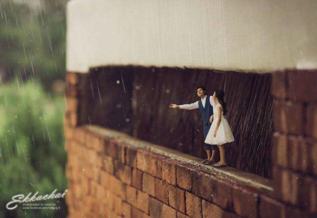 Cupluri miniaturale, intr-un pictorial suprarealist - Poza 7