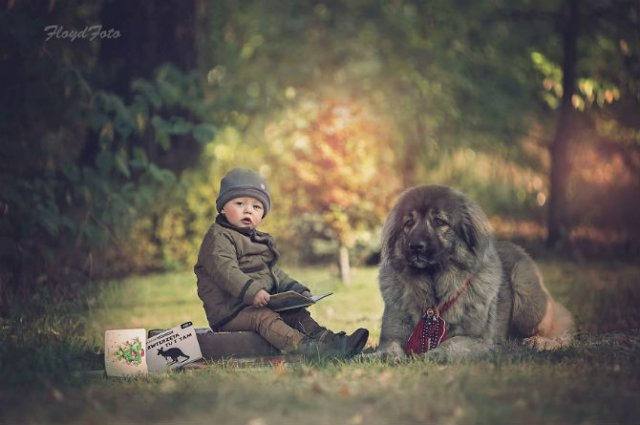Conexiunea dintre om si animale, in imagini sugestive - Poza 4
