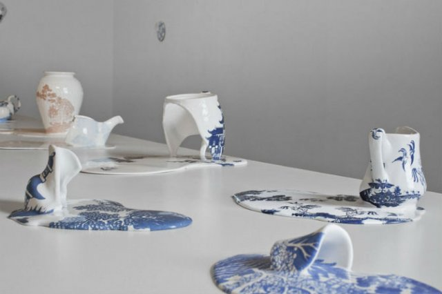 Balti de portelan: Piese din ceramica topite iscusit - Poza 8