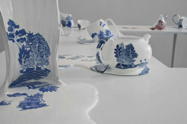 Balti de portelan: Piese din ceramica topite iscusit - Poza 9