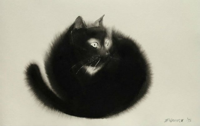 Pisici din cerneala, cu Endre Penovac - Poza 1