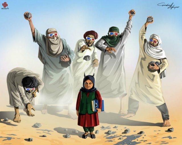 Nenorocirile lumii, in ilustratii satirice - Poza 1