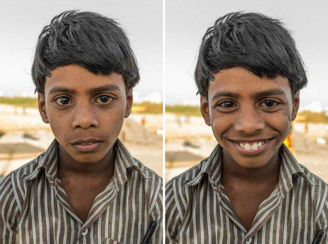 Zambete familiare pe chipuri straine - Poza 11