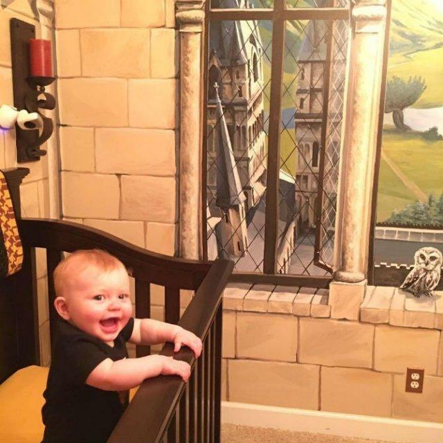 Harry Potter si cel mai fericit bebelus din lume - Poza 10