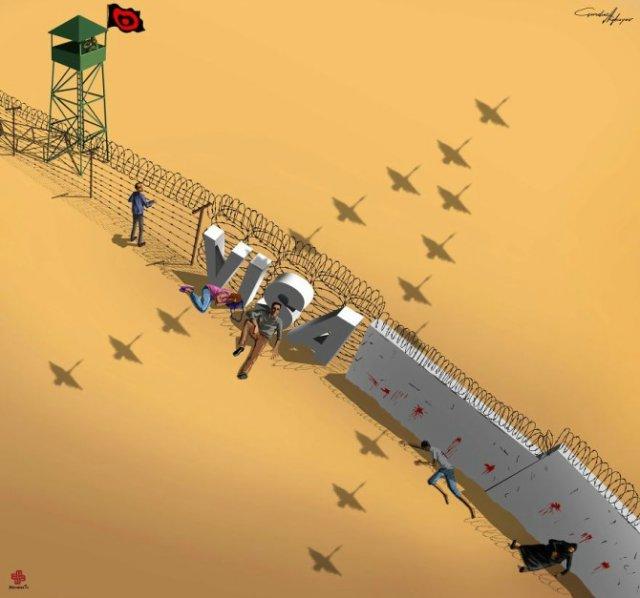 Nenorocirile lumii, in ilustratii satirice - Poza 2